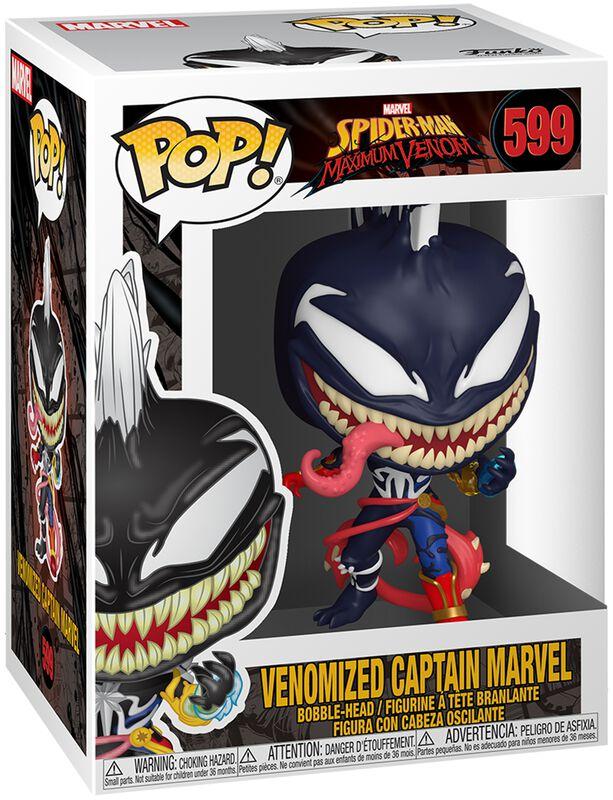 Figura Vinilo Maximum Venom - Venomized Captain Marvel 599