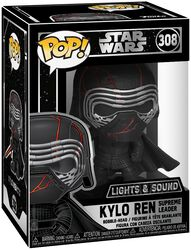 Figura Vinilo Episode 9 - The Rise of Skywalker - Kylo Ren  (Lights and Sound) 308