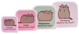 Lote de 4 Snack Box