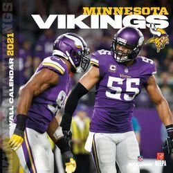 Minnesota Vikings - 2021 Calendar