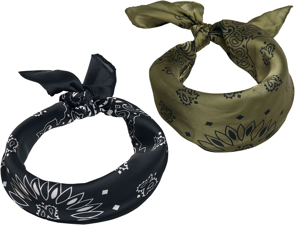 Satin Bandana 2-Pack