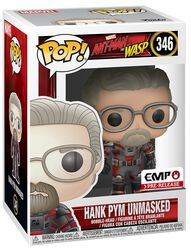 Figura Vinilo Ant-Man and The Wasp Hank Pym Unmasked 346