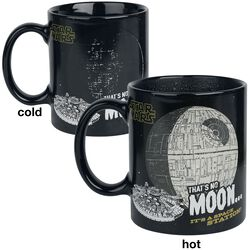 That's No Moon - Taza efecto térmico