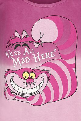 Gato Chesire - We´re all mad here
