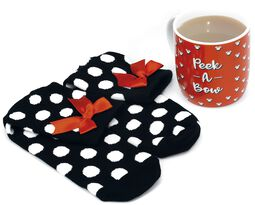 Minnie - Taza con calcetines