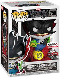 Dr. Strange with Energy (GITD) Vinyl Figure 750