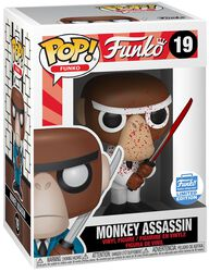 Figura Vinilo Fantastik Plastik - Monkey Assassin (Funko Shop Europe) 19