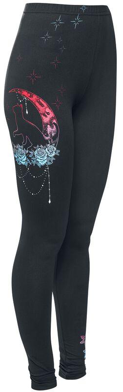 Leggings with Decorative Print