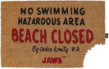 Tiburón Beach Closed
