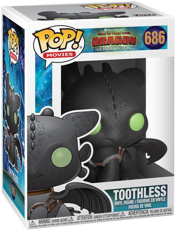 Figura Vinilo 3 - Toothless 686