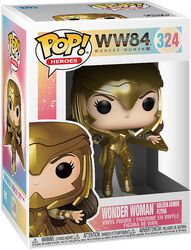Figura vinilo 1984 - Wonder Woman Golden Armor Flying 324