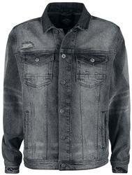 Denim Jacket Metal Grey