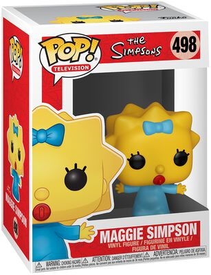 Figura Vinilo Maggie Simpson 498