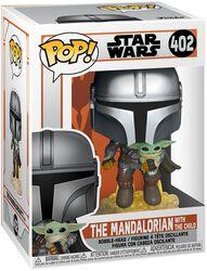 Figura vinilo The Mandalorian - The Mandalorian With The Child 402