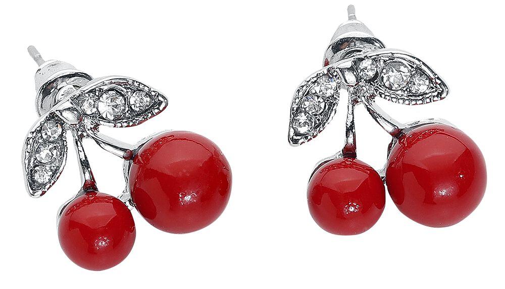 Cherry Earstuds