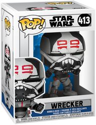 Figura vinilo Clone Wars - Wrecker 413