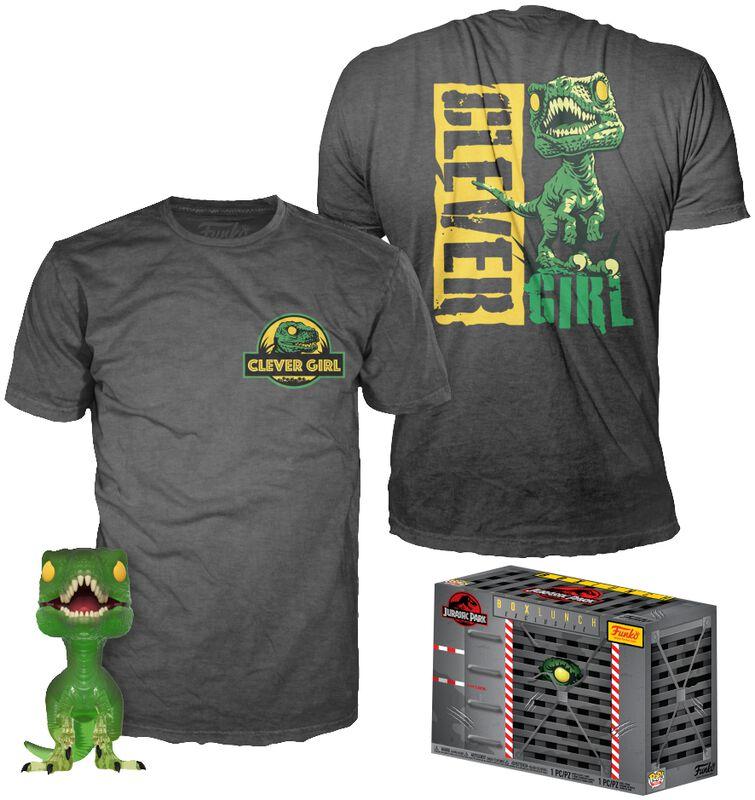 Clever Raptor (Transluscent) - POP! & Camiseta