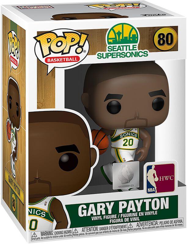Seattle SuperSonics - Figura Vinilo Gary Payton 80