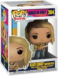 Figura Vinilo Black Canary Boobytrap Battle 304