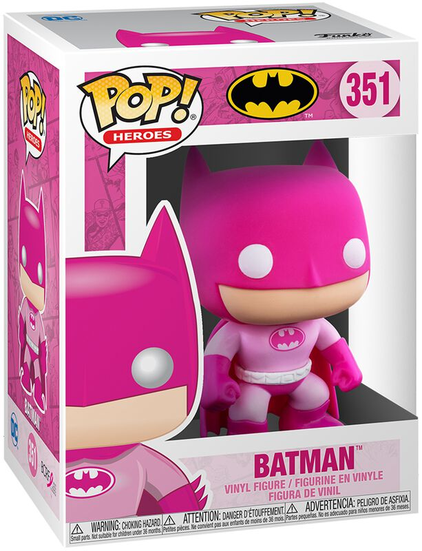 Figura vinilo Batman (Breast Cancer Awareness) 351