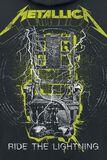 Splatter Lightning Chair