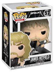 Figura Vinilo James Hetfield Rocks 57