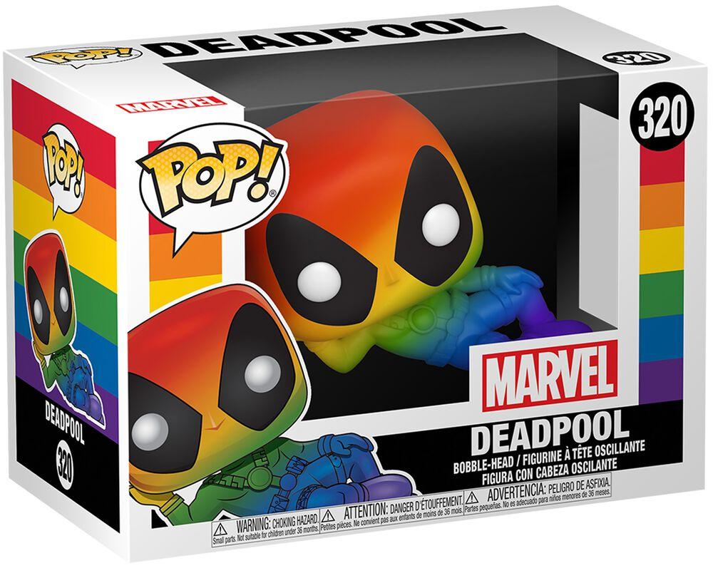 Figura vinilo Pride 2020 - Deadpool (Rainbow) 320