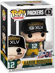 Figura Vinilo Packers - Aaron Rodgers 43