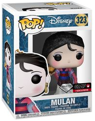 Figura Vinilo Mulan (Diamond Collection- Glitter) - 323