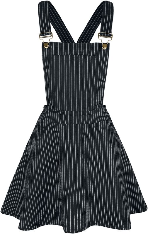 Over It All Pinstripe Overall