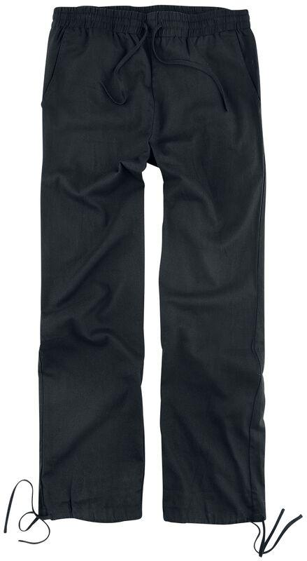 Pantalones negros de ligero material