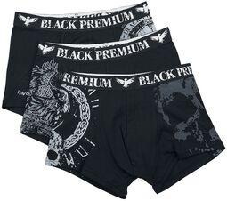 Calzoncillos negro/gris con varios diseños