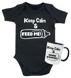 Keep Calm - Taza y body