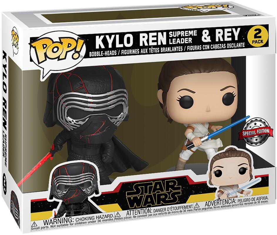 Figura vinilo The Rise of Skywalker - Kylo Ren (Supreme Leader) & Rey 2-Pack