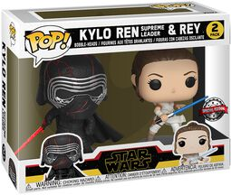 The Rise of the Skywalker - Kylo Ren (Supreme Leader) & Rey Vinyl Figur 2er Pack