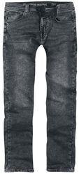 Slim Fit Jeans Black Mud