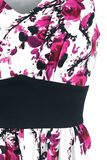 Vestido Foral Rosa