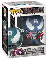Figura Vinilo Venomized Captain America 364