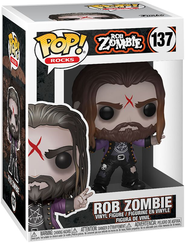 Rob Zombie Rocks - Vinyl Figure 137