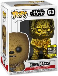 Figura Vinilo Star Wars Celebration 2019 - Chewbacca (Chrome) 63