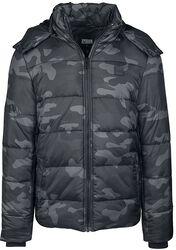 Hooded Camo Puffer Jacket