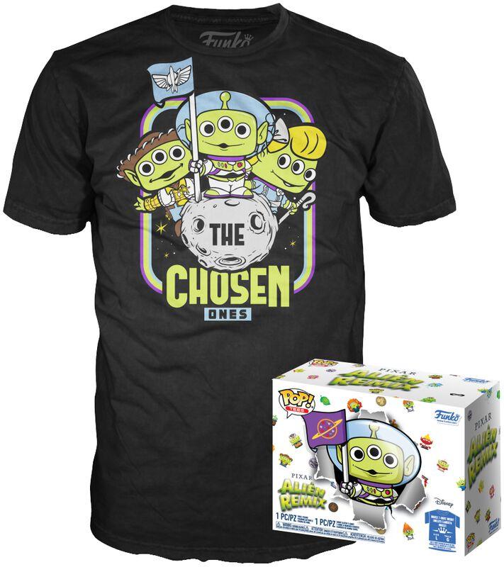 Alien As Buzz (GITD) POP! & Camiseta
