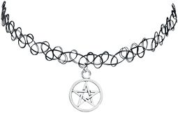 Pentagram Tattoo Necklace