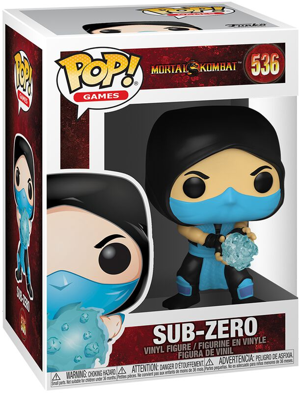 Sub-Zero Vinyl Figure 536