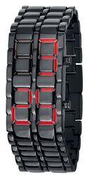Reloj Iron Samurai Rojo