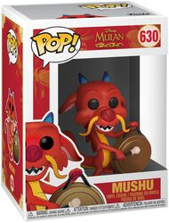 Figura Vinilo Mushu with Gong 630