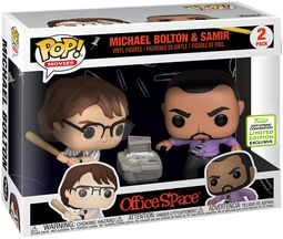ECCC 2019 - Office Space Michael Bolton and Samir (2 Pack) Vinyl Figure