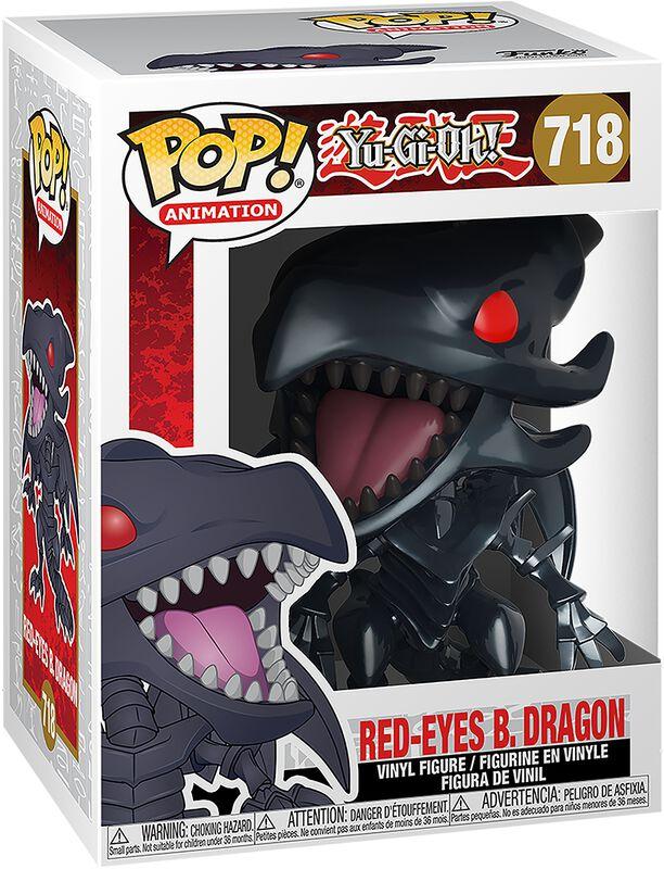 Figura vinilo Red-Eyes Black Dragon 718