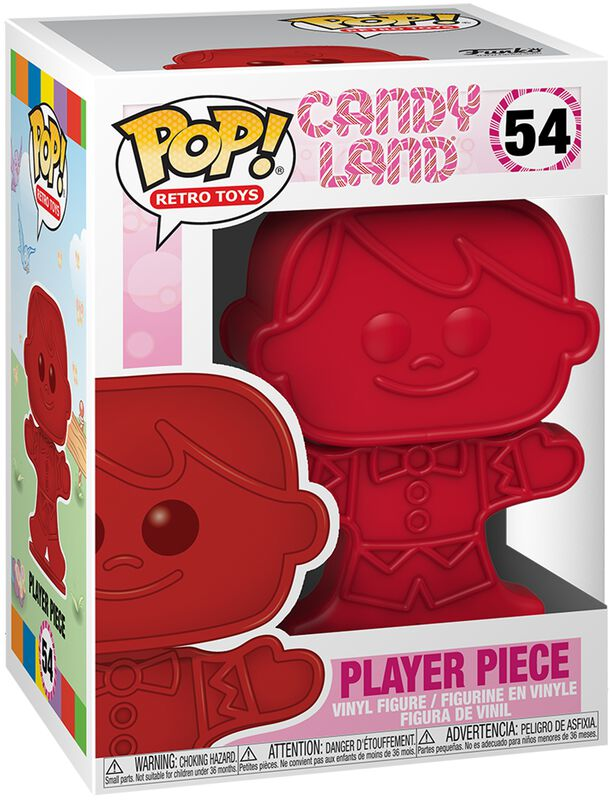 Figura vinilo Player Piece 54