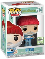 The Life Aquatic Figura Vinilo ECCC 2019 - Steve (Funko Shop Europe) 714